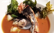 Golden Snapper Bouillabaisse Close-up
